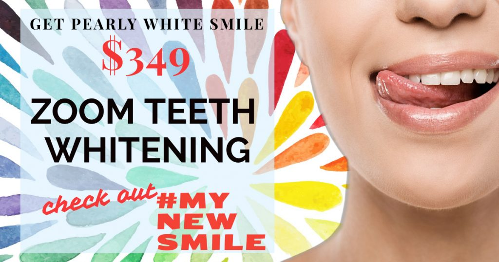 Zoom Teeth Whitening in Encino